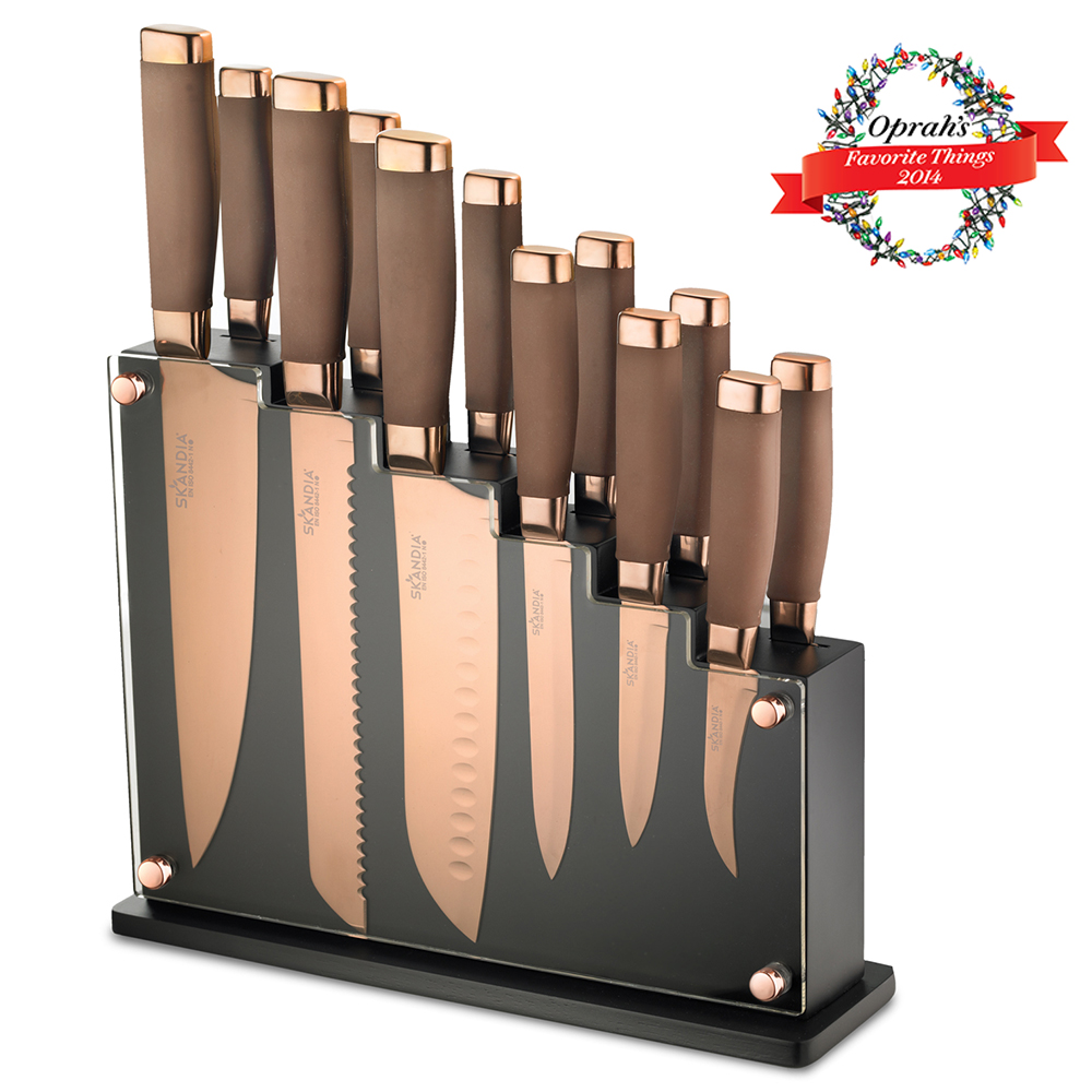 Forte 13 Piece Knife Block Set Hamptonforgecom