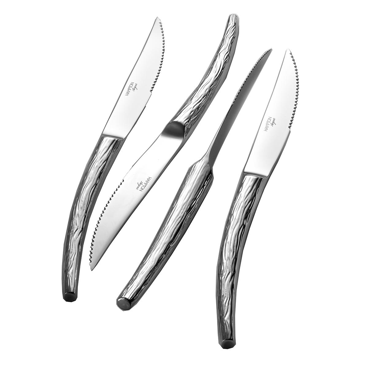 Willow 4 Piece Steak Knife Set Hamptonforge Com