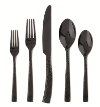 Paris Hammered Gunmetal 20 Piece Set